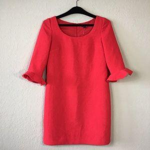 Ann Taylor Petite Bell Sleeve Tunic Dress